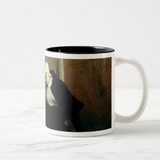 The Nun in the Cloister Garden, 1869 Two-Tone Coffee Mug
