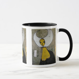 The nun with the naked centres - mug
