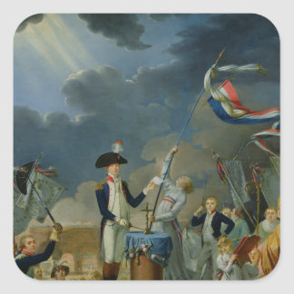 The Oath of Lafayette Square Sticker