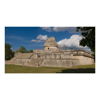 The Observatory, Chichen Itza Poster