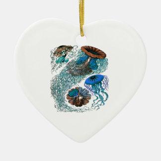 THE OCEAN PULSE CERAMIC HEART DECORATION
