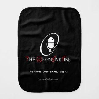 The Offensive Line Babay Cloth Burp Cloths