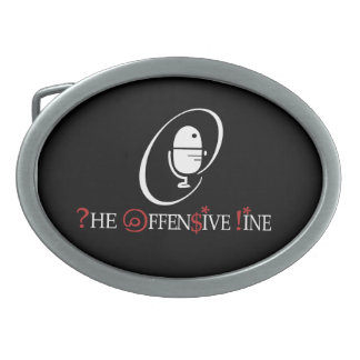 The Offensive Line Belt Buckle