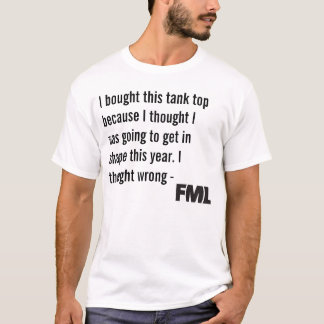 The Official FML Tank Top