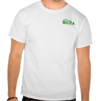 The OFFICIAL Mt. Olive Militia Henley Tee