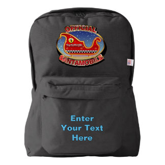 The Official Santa-Mobile Backpack