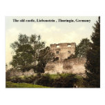 The old castle, Liebenstein  Thuringia, Germany Post Cards