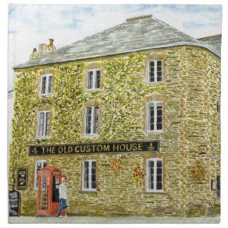 'The Old Custom House' Napkin
