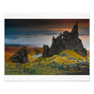 The Old Man of Storr Photo Art