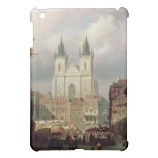 The Old Market Place at Prague, 1881 (oil on canva Case For The iPad Mini