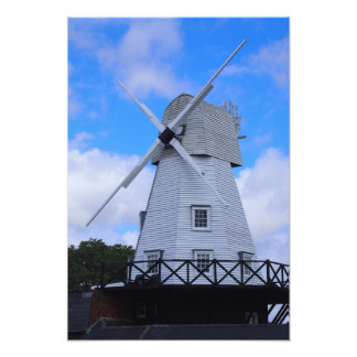 The Old Rye Windmill Photo Print