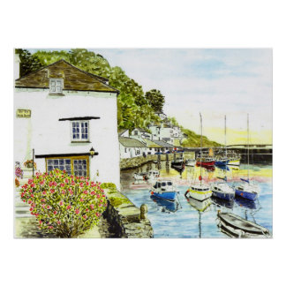 'The Old Watch House' Print
