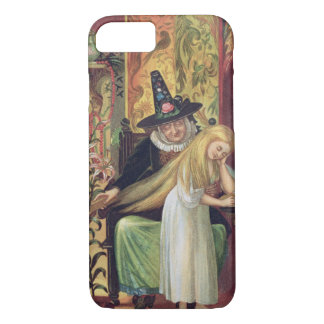 The Old Witch combing Gerda's hair with a golden c iPhone 8/7 Case
