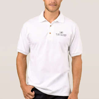 The Older I Get The harder It Gets to Find My Ball Polo Shirt