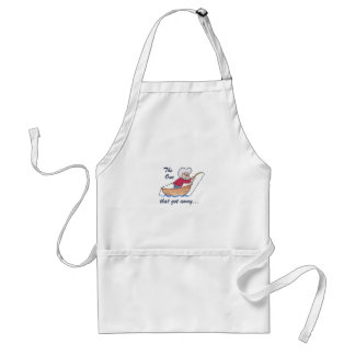 THE ONE THAT GOT AWAY APRON