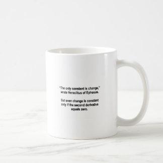The Only Constant (Coffee Mug) Basic White Mug