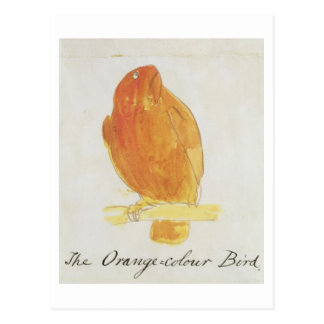 The Orange Colour Bird, from 'Sixteen Drawings of Postcard