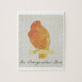 The Orange Colour Bird, from 'Sixteen Drawings of Puzzle