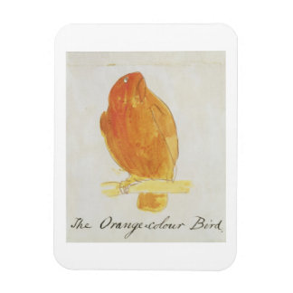 The Orange Colour Bird, from 'Sixteen Drawings of Rectangular Photo Magnet