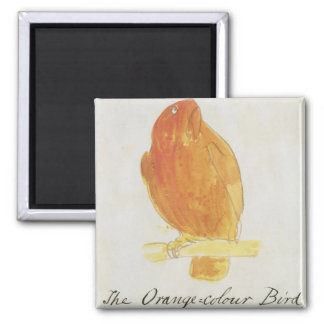 The Orange Colour Bird, from 'Sixteen Drawings of Square Magnet