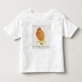 The Orange Colour Bird, from 'Sixteen Drawings of Toddler T-Shirt