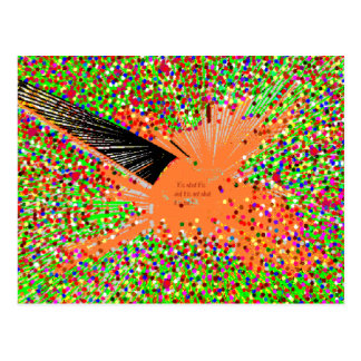 The Orange Coy Fish Postcard