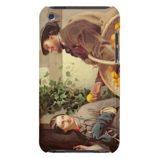 The Orange Seller (oil on canvas) iPod Touch Case