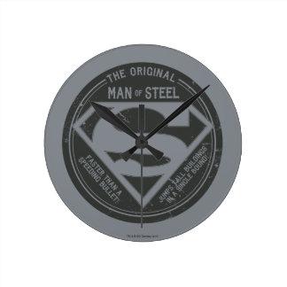The Original Man of Steel Wallclock