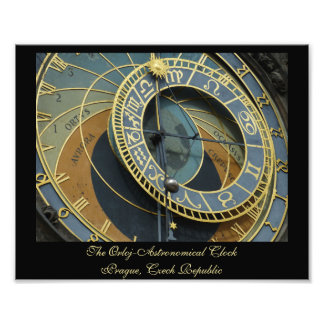 The Orloj-Astronomical Clock Prague Czech Republic Photo Print