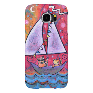The Owl and the Pussy Cat Samsung Galaxy S6 Cases