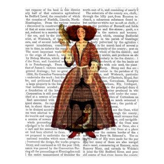 The Owl Lady Postcard