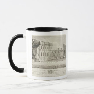 The Palace of Whitehall, from a drawing in the Pep Mug