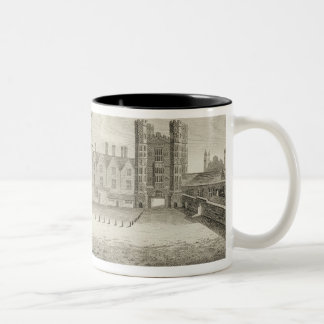The Palace of Whitehall, from a drawing in the Pep Two-Tone Coffee Mug