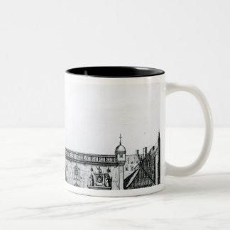 The Parliament House in Edinburgh Two-Tone Coffee Mug