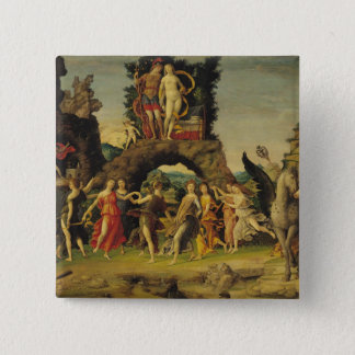 The Parnassus: Mars and Venus 15 Cm Square Badge