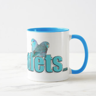 The Parrotlets Pacific Blue Parrotlet Coffee Mug