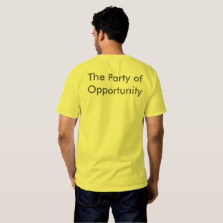 The Party of Opportunity Tees