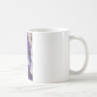 The passing cyclist coffee mug