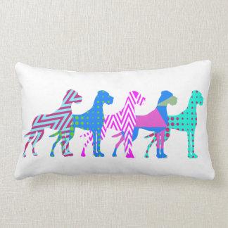 The Pat Great Dane Lumbar Pillow