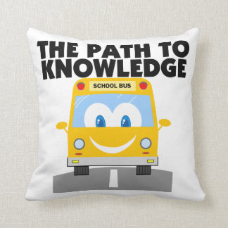 The Path to Knowledge Pillow