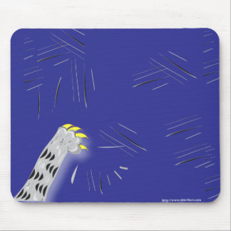 The Paw Pad Mouse Pad