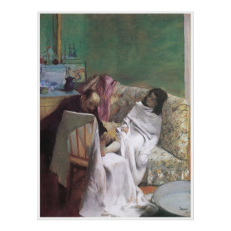 The Pedicure, 1873 - Edgar Degas Poster