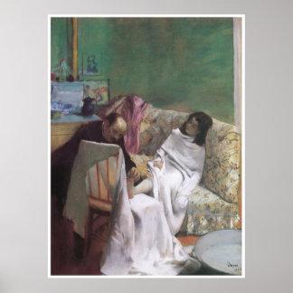 The Pedicure 1873 - Edgar Degas Print