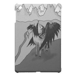 The Pegasus (b&w) iPad Mini Case