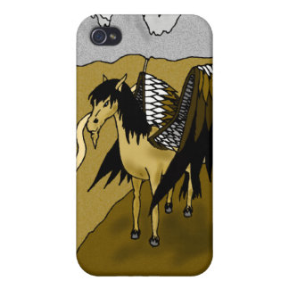 The Pegasus (Gold) Covers For iPhone 4