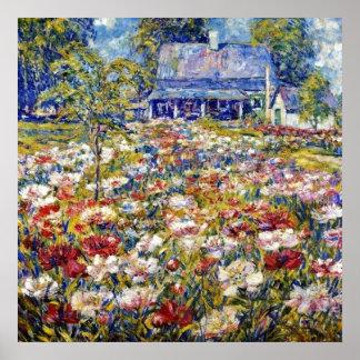 """The Peony Garden"" Poster"