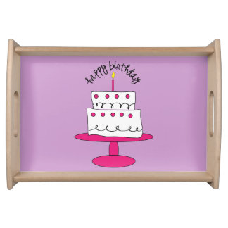 The Perfect Birthday Serving Tray