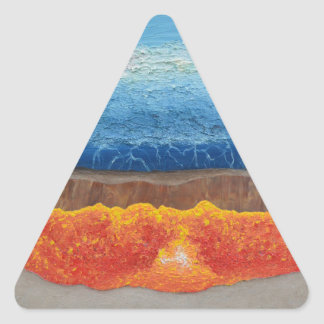 The Perfect Storm Triangle Sticker