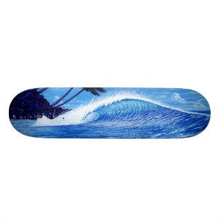 """The Perfect Wave"" skateboard design by Apollo"