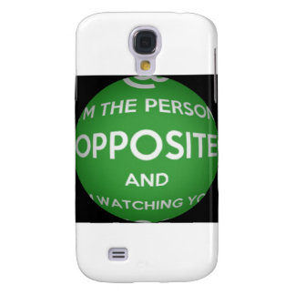 The Person Opposite Galaxy S4 Case